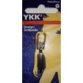 YKK Reißverschluß-Zipper Boje silber