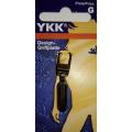 YKK Reißverschluß-Zipper Boje antikmessing