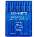 Schmetz Rundkolbennadeln System 134R 70er