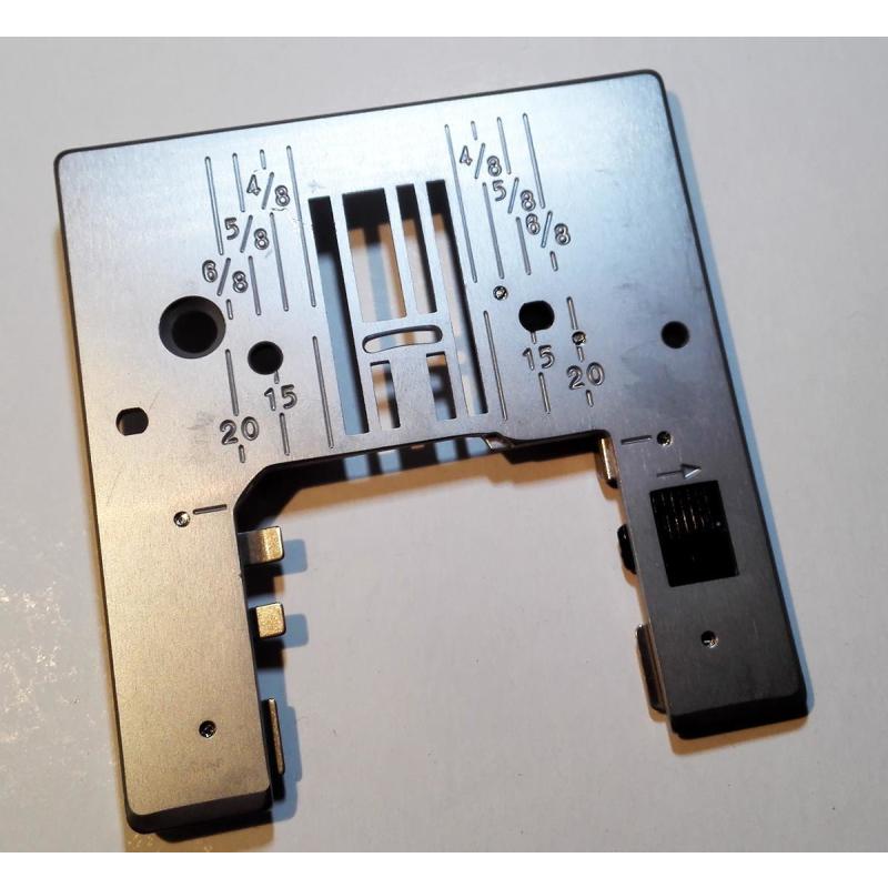 Janome Overlock Privileg Stichplatte Nadelplatte passend für Pfaff