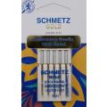 5 Schmetz GOLD TITAN Stick-Nadeln Stärke 75