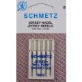 5 Schmetz Jersey-Nadeln 5x Stärke 80