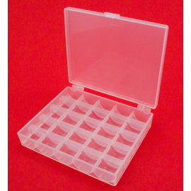 25 Spulen leer Spulenbox für Nähmaschine Spulen Kunststoffspule DE U7Y4 O0M0