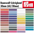 Schrägband - Baumwolle 30mm (60/30)