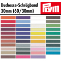 Prym Schrägband - Duchesse 30mm (60/30) weiß (10)