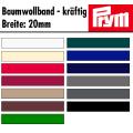 Prym Baumwollband kräftig 20mm