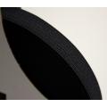 glattes Gummiband weich (soft elastic) schwarz 15mm