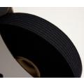 glattes Gummiband weich (soft elastic) schwarz 20mm