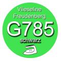 Gewebeeinlage G785 90cm breit - schwarz - fixierbar...